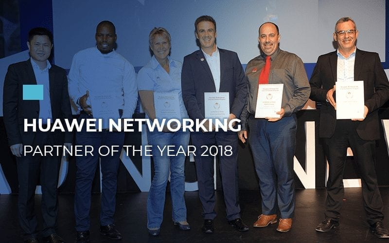 Huawei Networking Partner Of The Year 2018